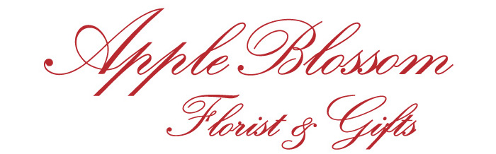 Apple Blossom Florist Logo