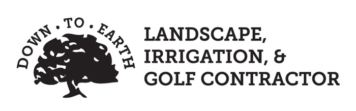 Down To Earth Landscape, Irrigation, & Golf Contractor Logo