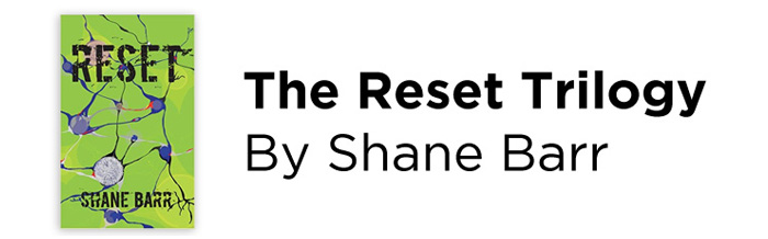 Shane Barr - The Reset Trilogy Logo